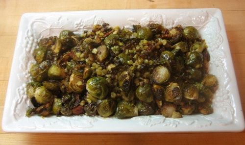 Corn & Brussels Sprouts