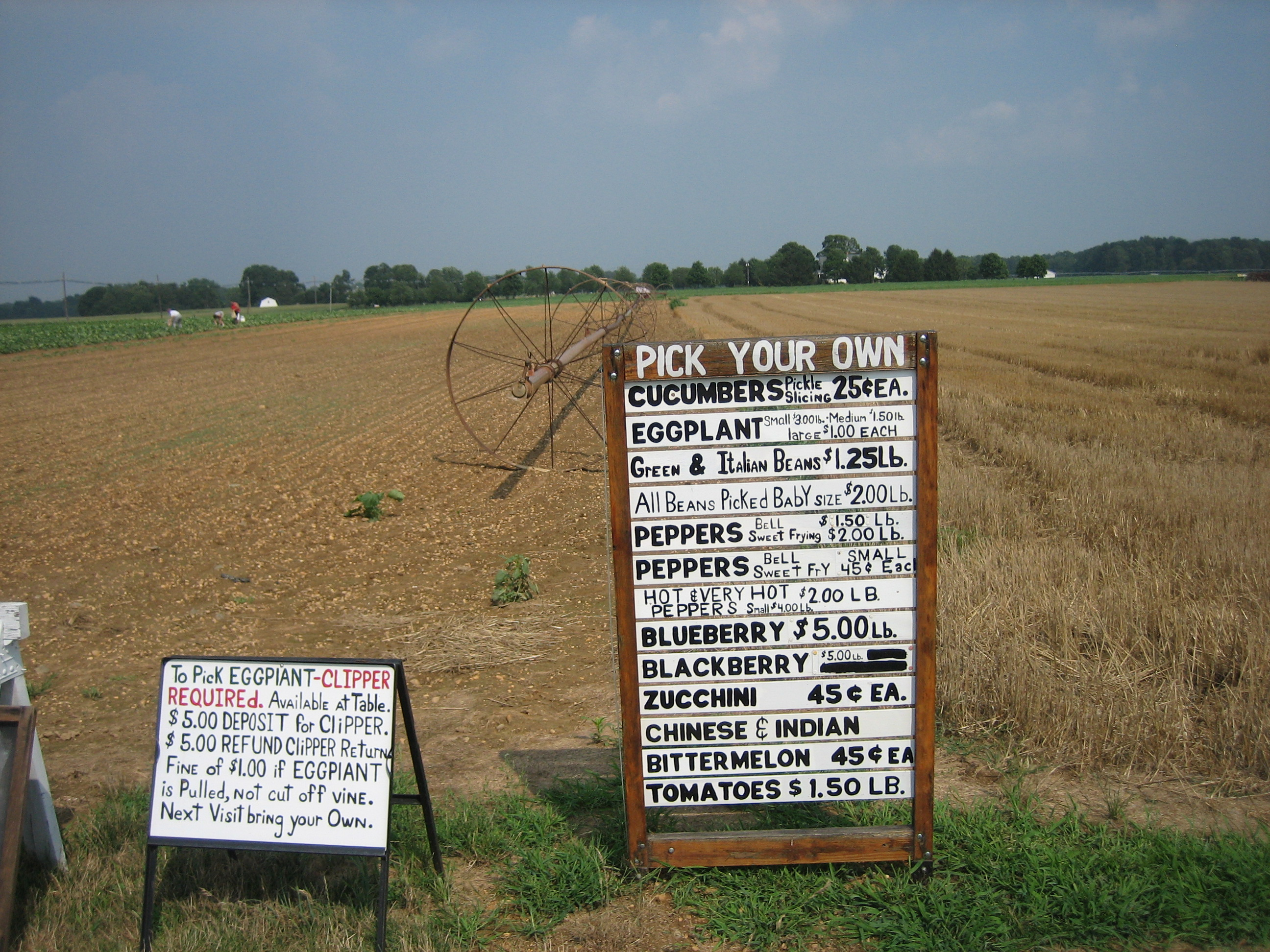 On the Road: Farm Stands of Mercer County, NJ | At Home By Steve ...