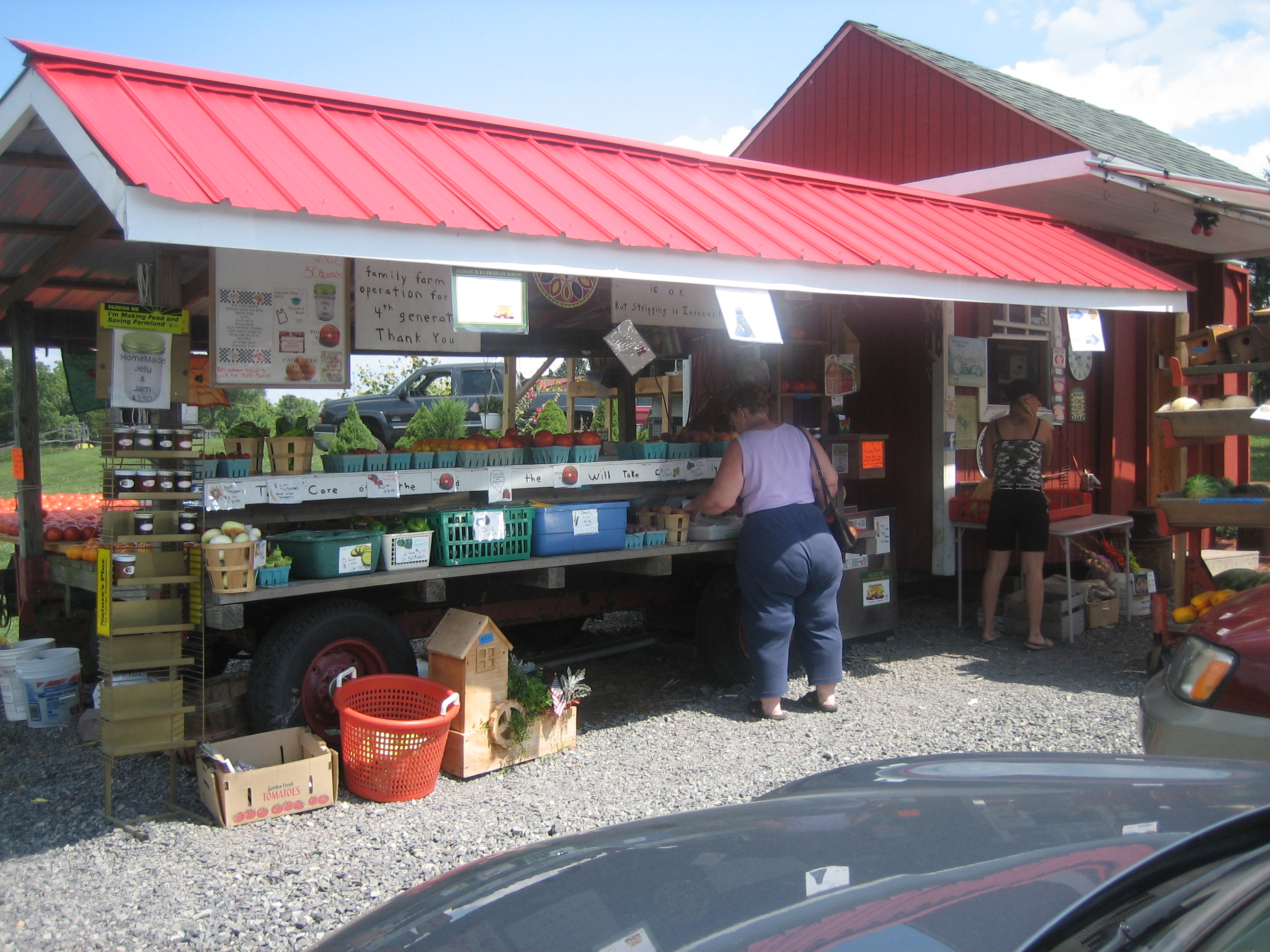 Roadside Stand Designs : On the road farm stands of northern chester montgomery