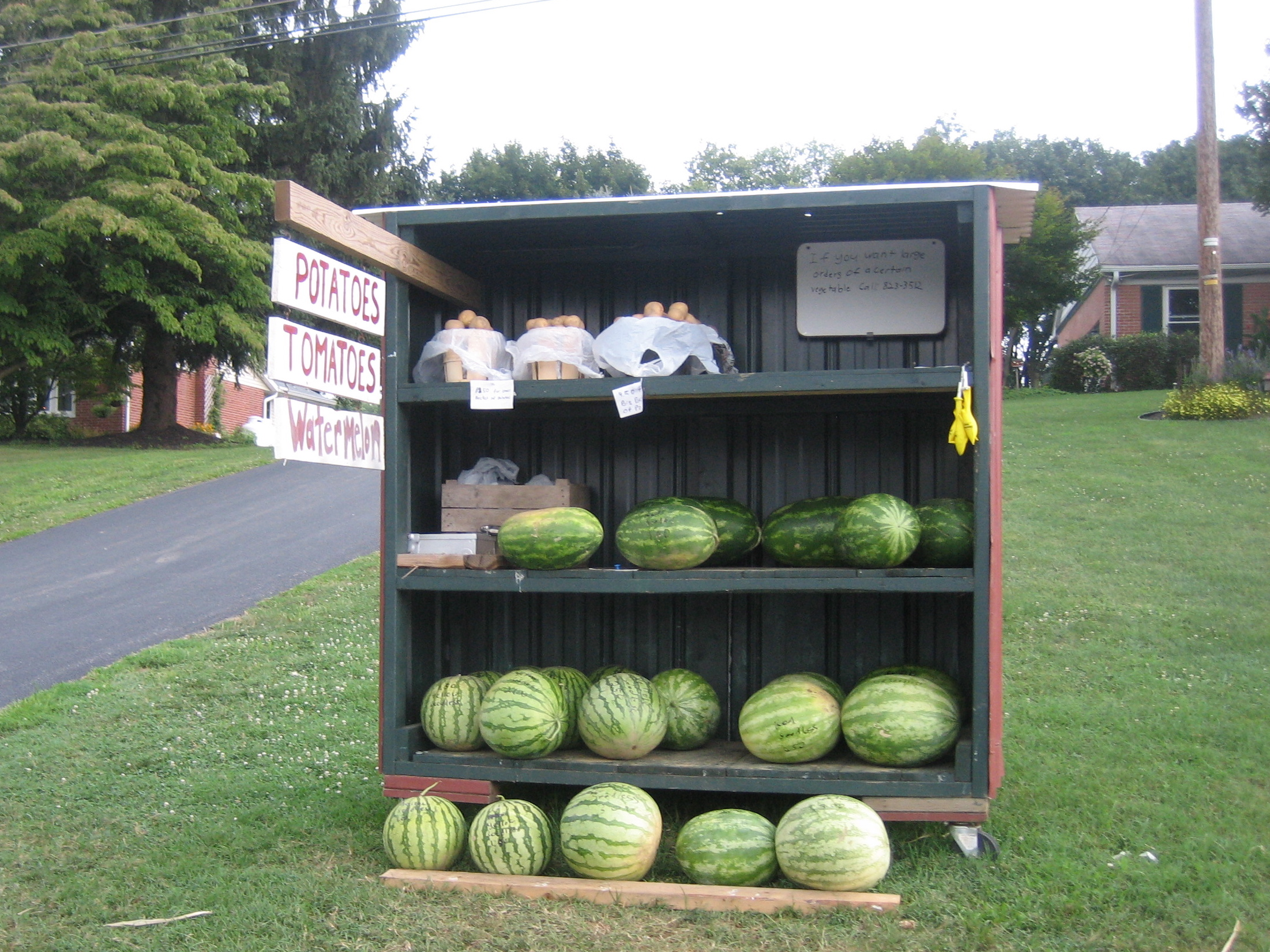 Roadside Stand Designs : On the road farm stands of lancaster county pa at home
