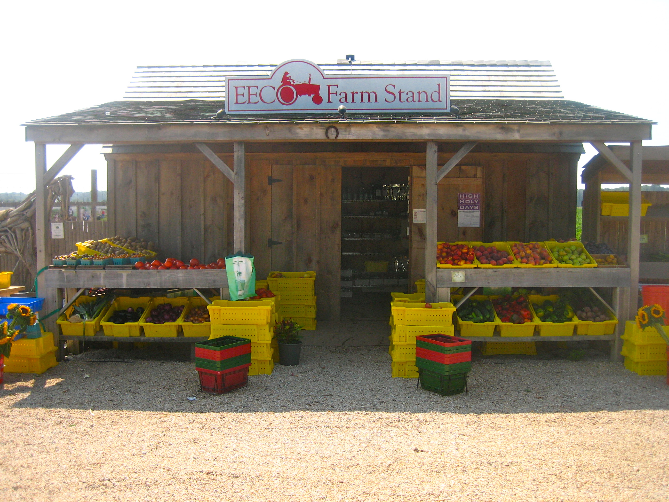 Roadside Stand Designs : On the road farm stands of long island s south fork at